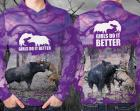 GIRLS DO IT BETTER SHIRT \u2013 PURPLE